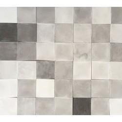 Mosaico de 20 x 20 cm.