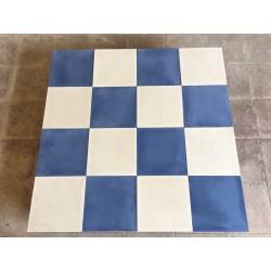 Mosaico Monocolor Azul y...