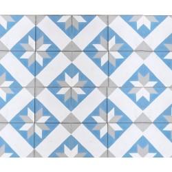 Mosaico Geométrico Tonos...