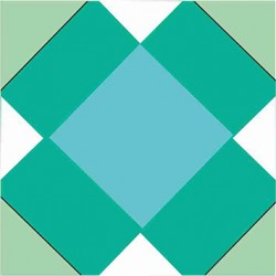 Mosaico Hidráulico Rombos