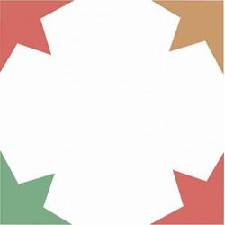 Mosaico Hidráulico Estrellas